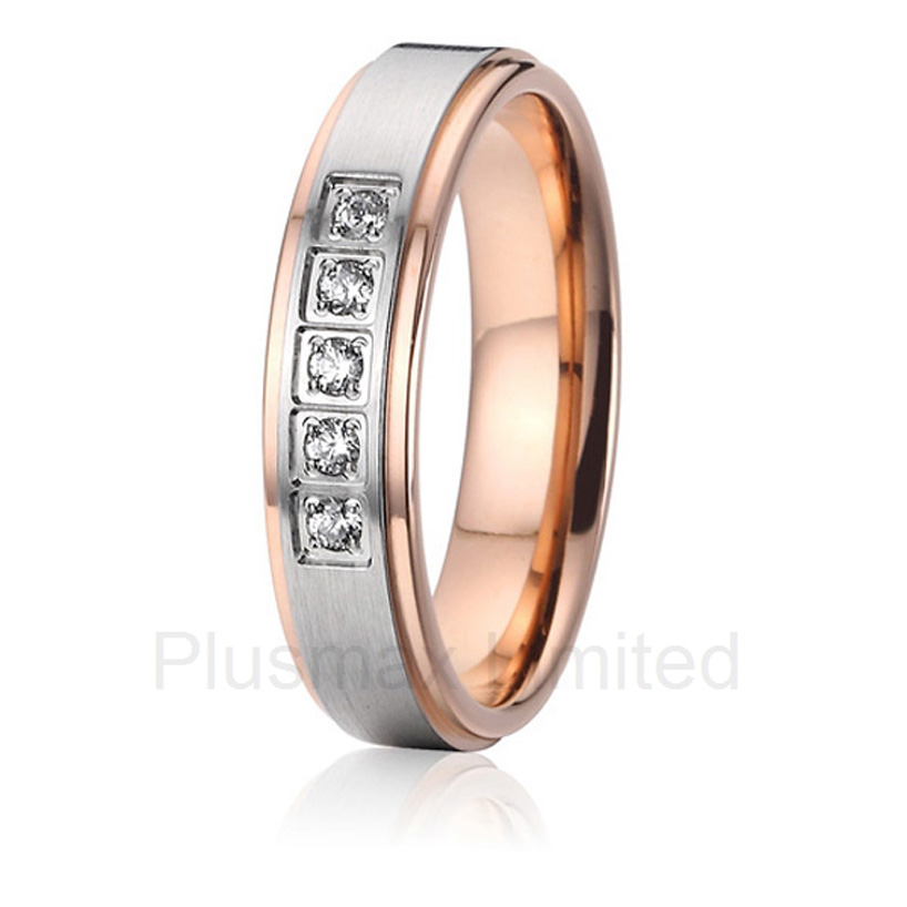 2016 China Manufacturer polishing and brushed comfort fit women's pure titanium jewelry wedding rings anel feminino cheap pure titanium jewelry wholesale a lot of new design cheap pure titanium wedding band rings