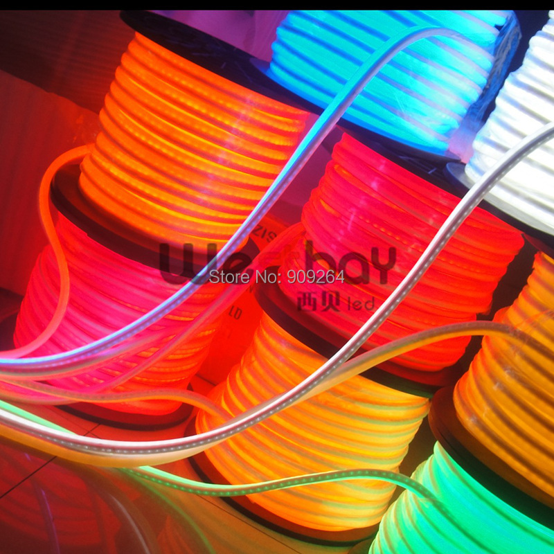 Mini 240V LED flexible Neon Strip,10*22mm, led neon flex for outdoor decoration цены