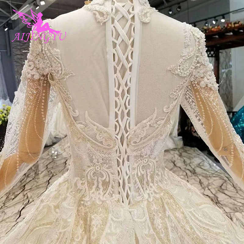 Aijingyu Open Back Wedding Dresses For Sale Designer Simple Bride Lace Gowns For Sale Indian Wedding Dress Wedding Dresses Aliexpress