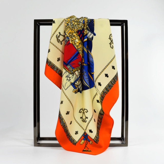 Europe Style Small Silk Scarf
