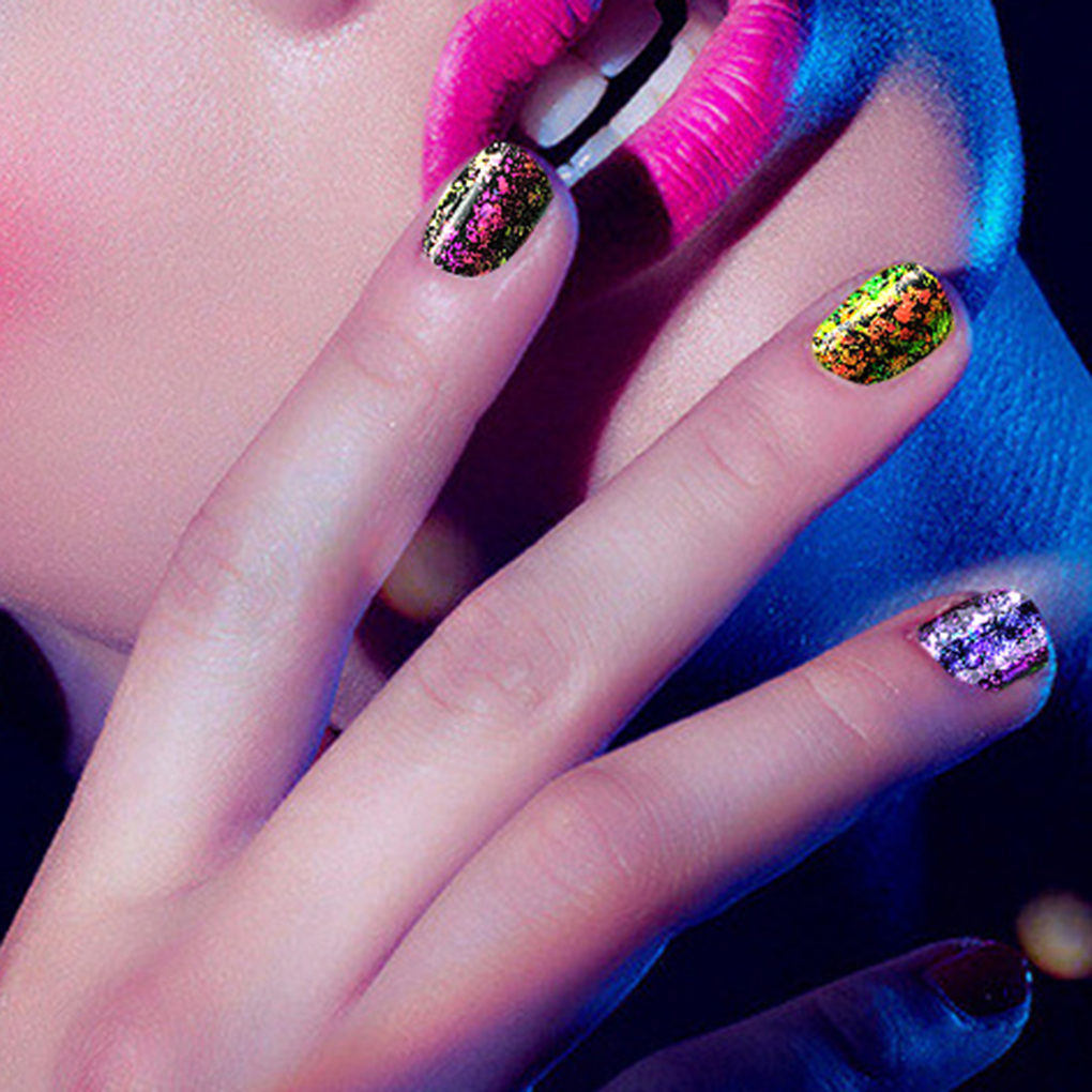 New Nail Art Glitter Powder Temperature Optical Color Changing ...
