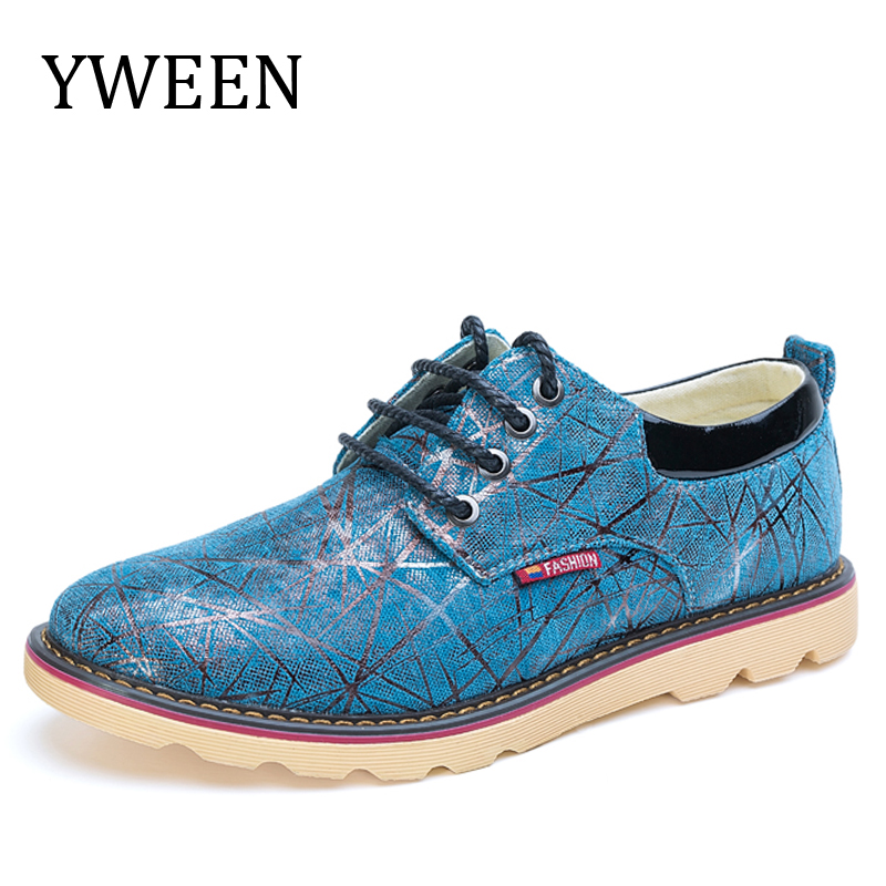 YWEEN 2017 New Men s Canvas Casual Shoes Men British Trend Style Oxford Shoes Man shoes