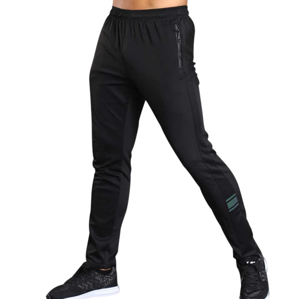 Męskie spodnie sportowe spodnie oddychające na co dzień do biegania szkolenia Fitness lato XR-Hot