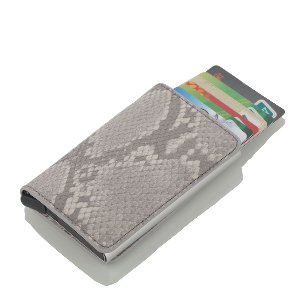 New Card Wallet Men Fashion Credit Card Holder Blocking Rfid Wallet Leather Unisex Security Information Passport Wallet Purse in Card ID Holders from Luggage Bags