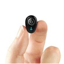 בלתי נראה קטן במיוחד ספורט מיני סטריאו S650 Bluetooth אוזניות אלחוטי 1earbud עבור גברים נשים ספורט