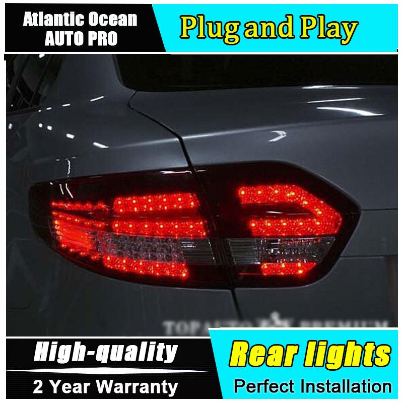 AUTO.PRO 2011-2015 For Fluence LED rear lights LED taillights For Fluence LED rear lamp car styling led lights free shipping for car rear lamp for lexus for is 250 for is350 led taillights year 2006 2014