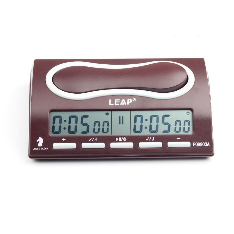 LEAP Chess Clock Multifuctional Portable Digital board competition Count Up Down Chess games Professional Electronic Alarm timer leap pq9903a digital chess clock with lcd display