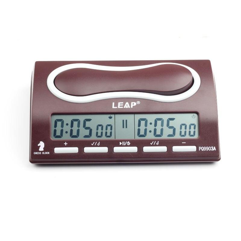 05d202dea8a LEAP Xadrez Relógio Multifuctional Digital Portátil placa de Contagem Up  Down jogos de Xadrez competição Profissional
