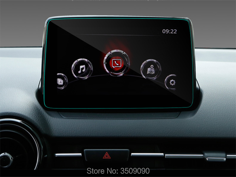 For Mazda CX-3 CX3 2018 Car Styling GPS Navigation Screen Protective Film Scratchproof Toughened Film Car Styling