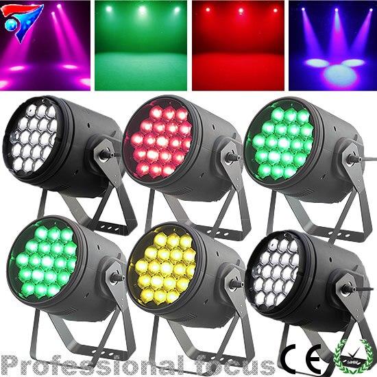 Free shipping 6pcs/lot 19*15W Led Par wash light stage effect led par zoom light Christmas Decorations