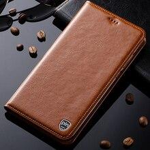 Для Huawei Honor 7i чехол Натуральная кожа Стенд Флип Магнитная крышка мобильного телефона + Бесплатный подарок