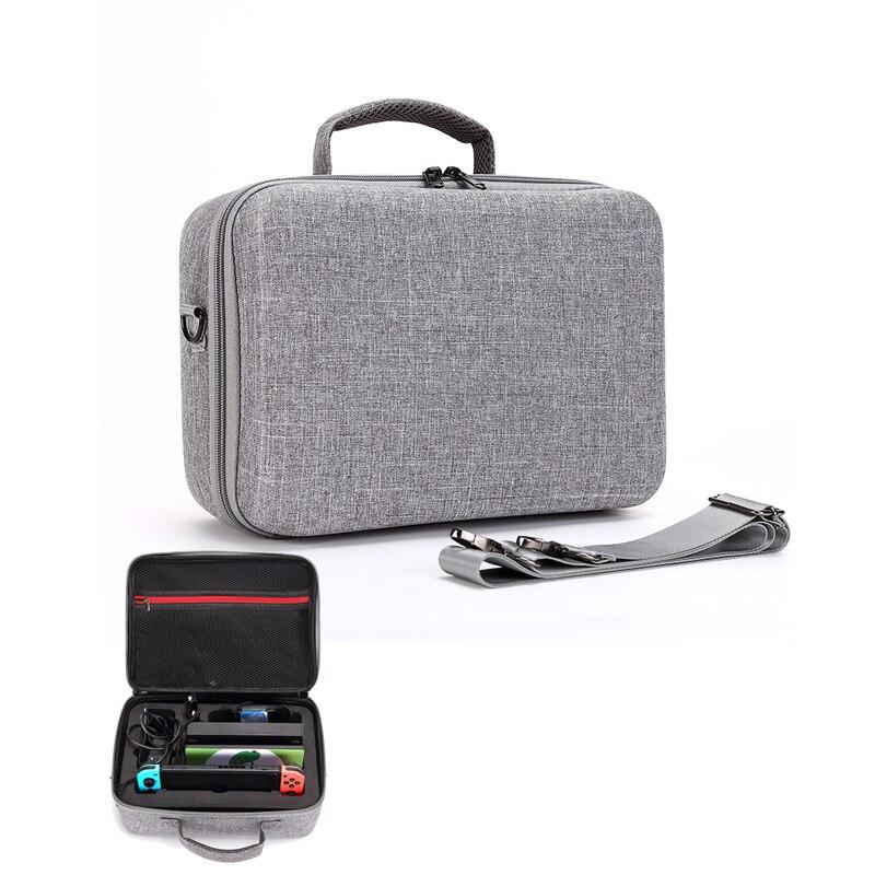 Étui Portable pour Console de commutation ntint transportant une pochette de rangement de jeu pour commutateur Nitendo NS accessoires de Console sacs à bandoulière