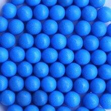 Пейнтбола калибра учебные маркеры мячи шарики многоразовые резиновые желтый синий красный