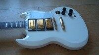 New Black Matte Black Color S G Electric Guitar Free Shipping Ebnoy Fretboard Fret Binded High