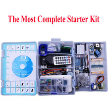 Elego UNO Project The Most Complete Starter Kit for Arduino UNO R3 Mega2560 Nano with Tutorial / Power Supply / Stepper Motor(China)