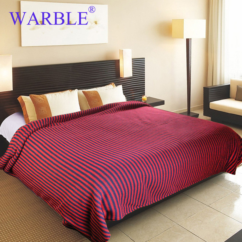 WARBLE Home Textil  Sofa Thread Blanket Decorative Slipcover Throws for Travel Plaids Rectangular Color Stitching 160cm x 220cm  american lattice blanket sofa decorative slipcover throws on sofa bed plane travel plaids rectangular color stitching blankets