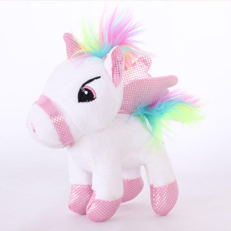Mini Stuffed Animals Horse Soft Toys Plush Unicorn Small Cute For Children Licorne Kawaii Pillow