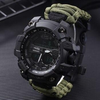 1f4609581587 Shock relojes Deportivos gran Dial Digital de cuarzo impermeable militar de  los hombres relojes de Hombre relojes de los hombres Deportivos Reloj Hombre