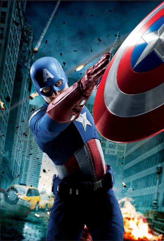 5x7FT Avengers Captain America Steven Steve Rogers Super Heroes Custom Photo Studio Backgrounds