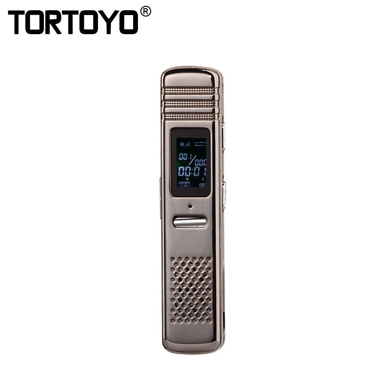 Tortoyo 8 Gb Portable Professional Digital Voice Recorder Audio Aufnahme Stift Smart Noise Reduktion Konferenz Studie Diktiergerät Aromatischer Charakter Und Angenehmer Geschmack Digital Voice Recorder