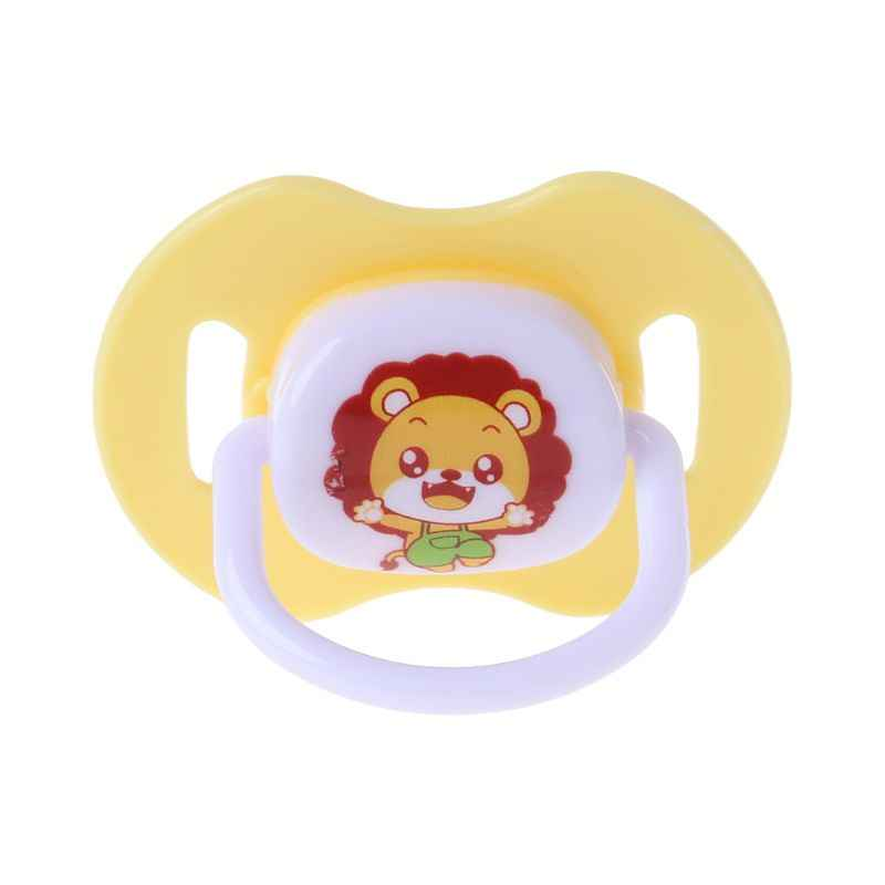 Chupete de silicona de grado alimenticio de pezón para bebé cabeza redonda bebé recién nacido chupete ortodóntico BPA CUIDADO DE mordedor seguro
