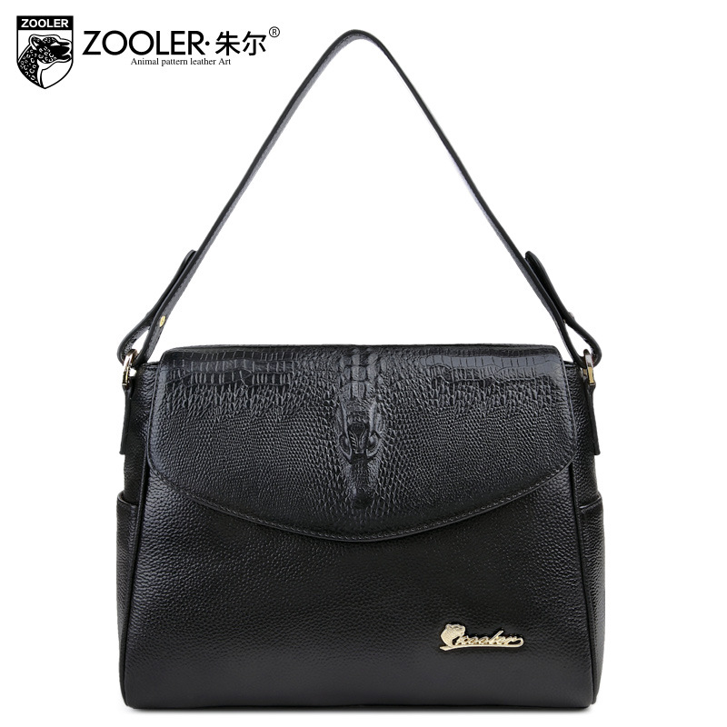 ZOOLER Brand High Quality Women Small Genuine Leather Shoulder Bags For Women Messenger Bag All Match Casual Tote Crossbody Bag zooler 100% real natural genuine leather women small handbag high quality famous design brand bags tassel shoulder messenger bag