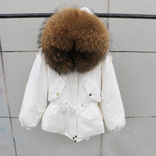 Winter Thick Coats Natural