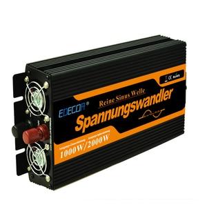 Image 2 - Onda Sinusoidale Pura Power Inverter 12V a 220V 1000 W di Picco 2000 W Convertitori di Frequenza di Alimentazione