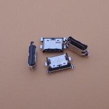 500 יח\חבילה מטען מיקרו USB טעינת נמל עגן שקע לסמסונג גלקסי A70 A60 A50 A40 A30 A20 A405 a305 A505 A705