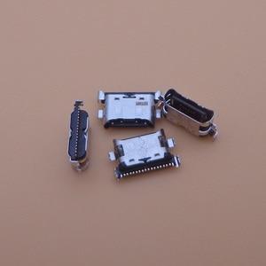 Image 1 - 500 pçs/lote Carregador Micro USB Tomada de Carregamento Porto Dock Connector Para Samsung Galaxy A70 A60 A50 A40 A30 A20 A405 a305 A505 A705