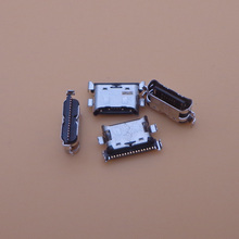 500 stks/partij Charger Micro Usb poort Opladen Dock Connector Socket Voor Samsung Galaxy A70 A60 A50 A40 A30 A20 A405 a305 A505 A705