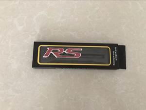 3D Metal RS Grille Emblem Sticker Badge For Mitsubishi ASX Outlander Lancer Colt