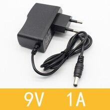 1 шт. 9 в 1 а dc адаптер питания ЕС 5,5 мм* 2,1 мм интерфейс питания 100-240 В адаптер переменного тока для arduino UNO MEGA