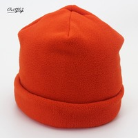 OUTFLY Outdoor Unisex Warm Hat Autumn And Winter Knitted Hats For Men Beanies Simple Style Cap