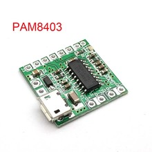 PAM8403 Dc 5V Mini Klasse D 2X3W Usb Power Versterker Board Diy Bluetooth Speaker 2*3W Klasse D Digitale Versterker Boord(China)
