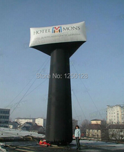 Giant 7 m High moving Advertising billboard  Inflatable triangle balloon