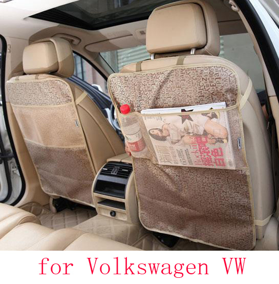 For volkswagen vw golf 4 5 passat b5 b6 polo jetta car seat covers baby Kick protector mats waterproof car accessories interior