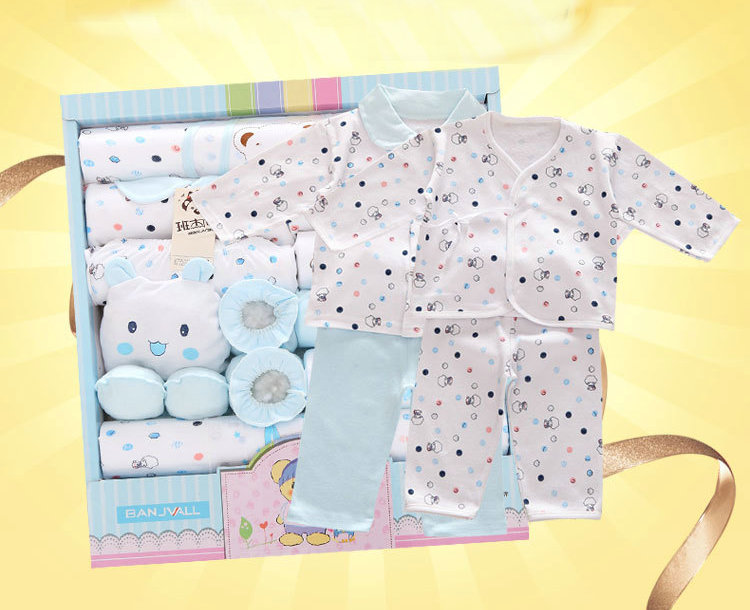 NEW Newborn Baby Clothes Soft Cotton Toddler Baby Boy Girl Clothes Set Infant Clothing New Born Gift Sets SJXBB