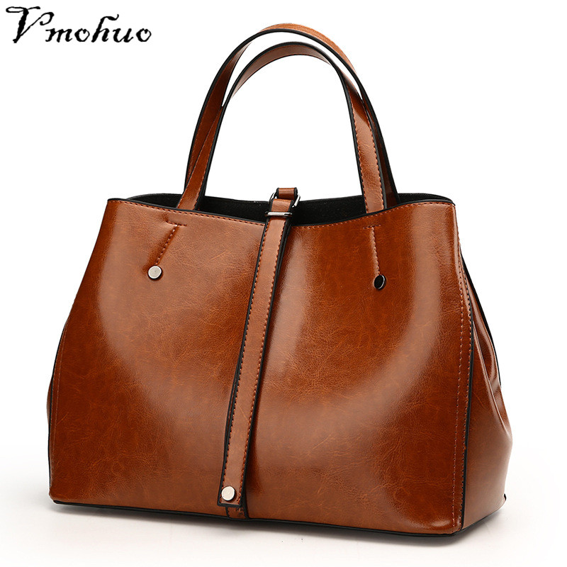 VMOHUO Genuine Leather Women Bag Ladies Handbag Shoulder Bags Women Messenger Bag Female Crossbody Tote Bags Bolsa Feminina 2018 women messenger bags vintage cross body shoulder purse women bag bolsa feminina handbag bags custom picture bags purse tote