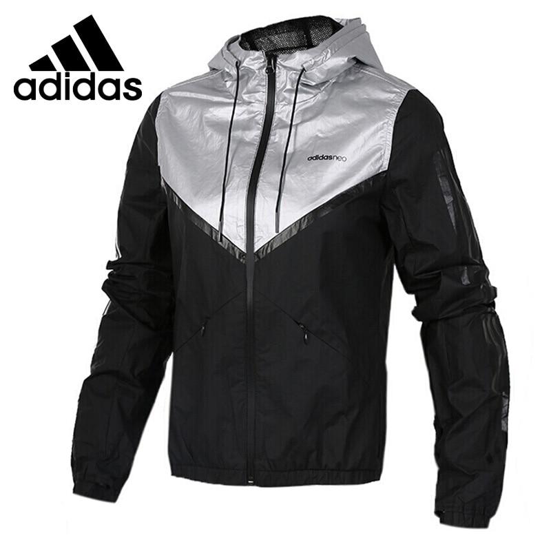 Original New Arrival 2017 Adidas NEO Label Women's jacket Hooded Sportswear adidas original new arrival official neo down jk men s windproof jacket hooded sportswear cd2324