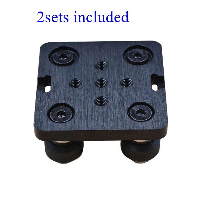 2 sets Openbuilds Mini V Gantry Set V Gantry platte spezielle rutsche platte F/aluminium profile V-slot mini V Linear Antrieb System