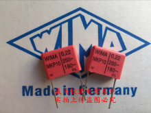 2019 hot sale 10pcs/20pcs German capacitor WIMA MKP10 250V 0.22UF 250V 224 P: 15mm Audio capacitor free shipping