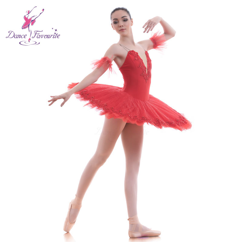 BLL050 Red Pre professional ballet tutu women and Girl Stage ballet costumes tutu ballerina Tutu Ballerrinas Tutus