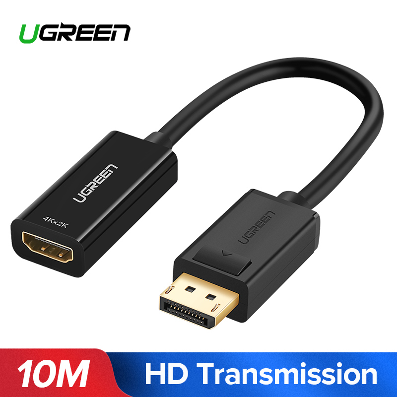 Ugreen 4 k Displayport DP ALL'ADATTATORE di HDMI 1080 p Display Port Convertitore di Cavo Per PC Del Computer Portatile Proiettore Displayport a HDMI Adattatore