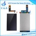 6 pulgadas de pantalla para sony para xperia c5 ultra e5506 e5533 pantalla LCD con el digitizador assembly 1 unidades del nuevo envío libre