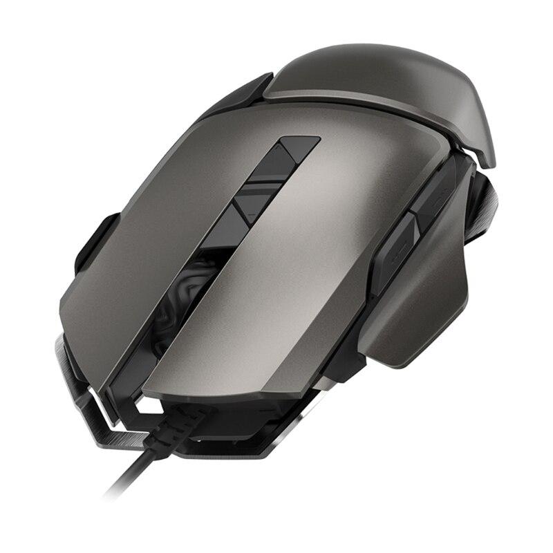 Souris filaire rvb souris de jeu gamer souris de jeu filaire USB professionnel 7200 DPI 7 boutons souris de jeu pour PC portable livraison directe
