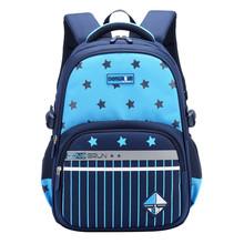 Dzieci torby szkolne dla chłopców dziewczyny wodoodporna ortopedyczne podstawowych tornister dla dzieci plecak dla dzieci torby książki dla dzieci plecak dla dzieci sac enfant tanie tanio ZIRANYU CN (pochodzenie) NYLON zipper Backpack 0 6kg Polyester 42cm GEOMETRIC CDSA115 Chłopcy 19cm 30cm