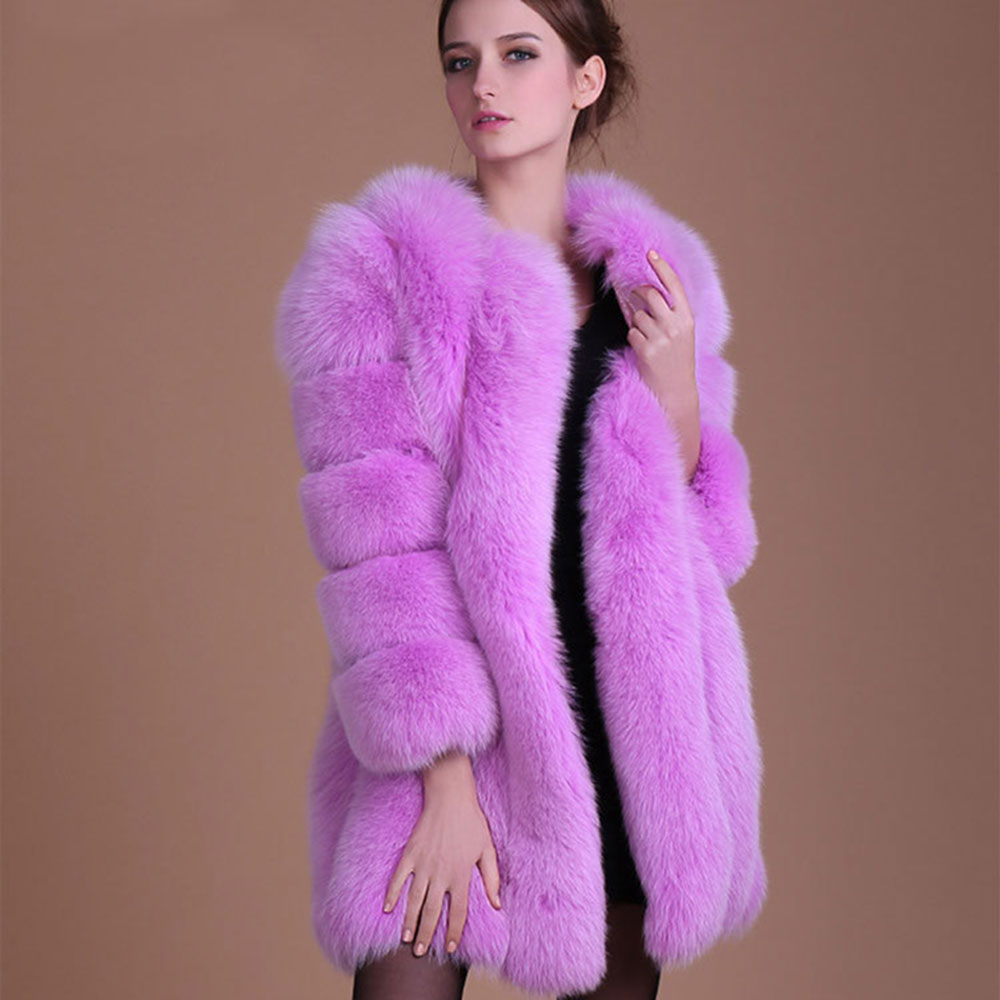 Online Buy Wholesale pink fur coat from China pink fur coat ...
