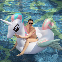 210cm Giant Swimming Pool Float Inflatable Pony Unicorn Pegasus Floaties Inflatable Water Toys Inflatable Mattress Boia Piscinas