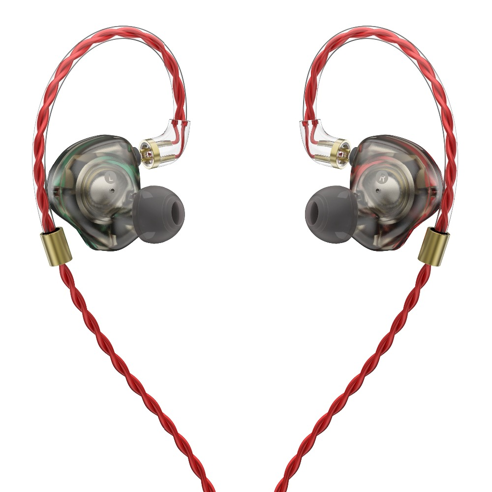 AK New OperaFactory OM1 In-ear Monitor Dynamic Earphone HIFI Bass Headset Earbud Headplug With MMCX Cable For Xiaomi